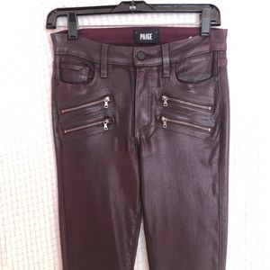 Paige Edgemont Coated jeans